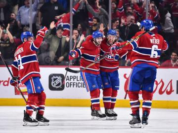 Cracking the win The Canadiens soar above the Cup contending Jets