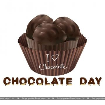 Chocolate Day animated cards Happy chocolate day