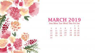 March 2019 Desktop Wallpaper Calendar Latest Calendar