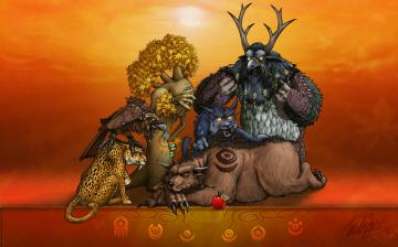 Download World of Warcraft Druid Wallpaper World of Warcraft Tauren