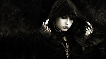 GOTHIC goth style goth loli women girl dark fantasy witch f wallpaper