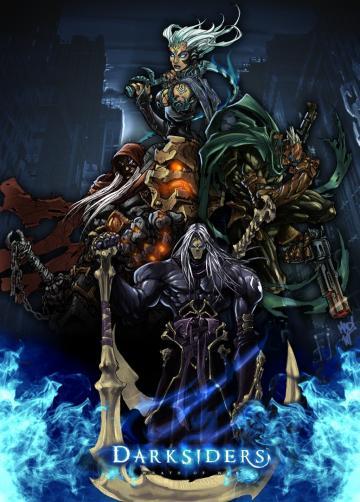 The Four Horsemen   Darksiders Fan Art 2168614