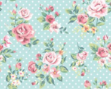 Rose Pattern Background Vector Graphic Download