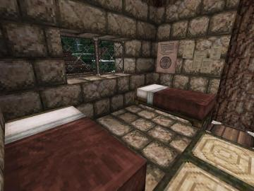 Minecraft Family Cabin Bedroom by lilgamerboy14