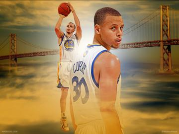 Stephen Curry Wallpaper Shooting The Art Mad Wallpapers