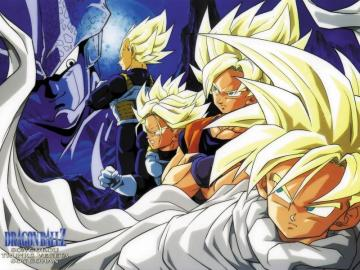 Dragon Ball Z Wallpapers   Vegeta Son Gohan Trunks Goku