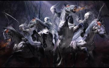 Four Horsemen Of The Apocalypse Wallpaper Darksiders   wallpaper