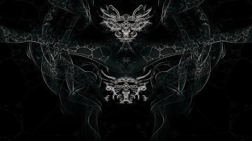 Web Skulls Artwork Mystic Images Ghost Full HD desktop wallpaper