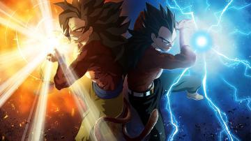 Goku Vageta   Dragon Ball Z Wallpaper 35525624