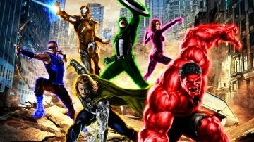 Marvel Heroes HD Wallpaper 1920x1080 ID58240