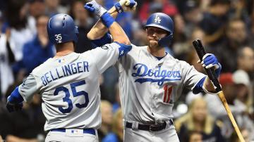 Bellinger Muncy and Urias Lead LA Dodgers Past Milwaukee