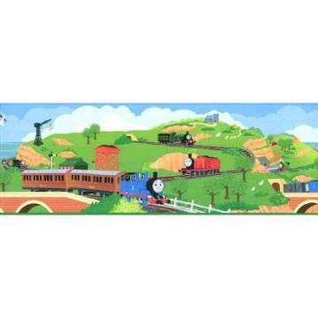 Thomas the Tank Train Wallpaper Border Home Improvement