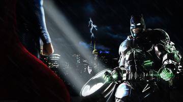 SUPERMAN adventure action batman superman dawn justice wallpaper
