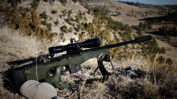 L96A1 sniper rifle Wallpapers HD Wallpaper Downloads