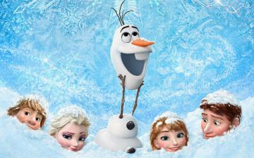 Bilder Walt Disney 3D animationsfilm Frozen wallpaper