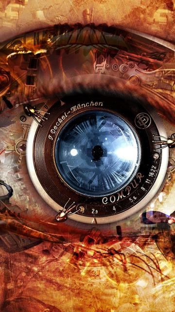 Eye Steampunk iPhone 6 Wallpaper Download iPhone Wallpapers