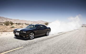 Dodge Challenger SRT8 Black Car Wallpaper   HD