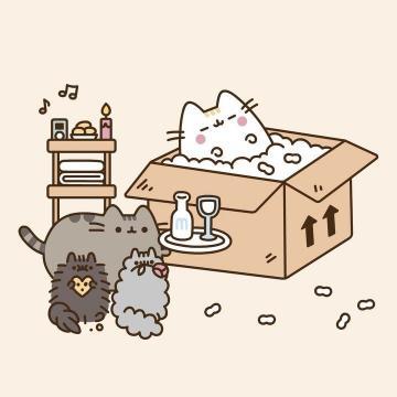 Happy Mothers Day cute kawaii wallpaper cat cartoon