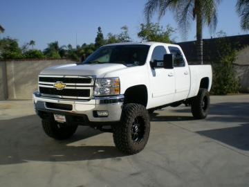 Lifted Gmc Truck Wallpaper White Chevy Trucks Lifted Wallpaper Show