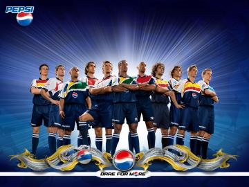 Download full size PEPSI team Football Wallpaper Num 30 1024 x