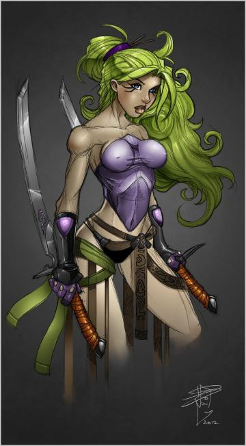 Blade Dancer by RDOWN Phone Wallpaper Pinterest
