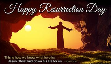Happy Resurrection Day eCard   eMail Personalized Easter
