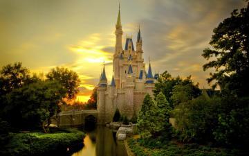 High Definition Disney Castle Desktop Background Desktop