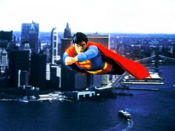 1024x768 Superman 1978 desktop PC and Mac wallpaper