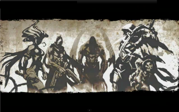 Darksiders Four Horsemen Wallpaper All HD Wallpapers