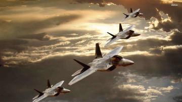 Lockheed Martin F22 Raptors HD wallpapers