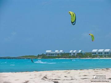 kitesurfing wallpaper covecastles Tropical Paradise Kitesurfing