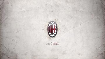 Best AC Milan Football Club Logo Wallpaper Background Wallpaper with
