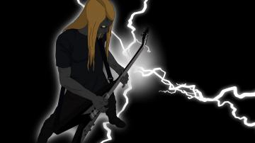 Dethklok heavy metal music cartoons hard rock band groups