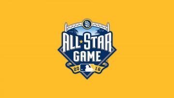 Photo San Diego Padres All Star Game Logo