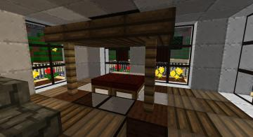 My Minecraft Beach House Bedroom by lilgamerboy14
