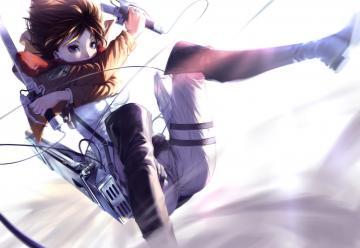 Shingeki No Kyojin Mikasa Ackerman Other 79974 HD Wallpaper Res