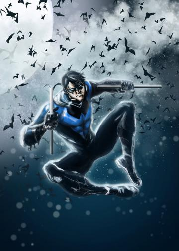 NightWing Blue by LeonardoEnrique
