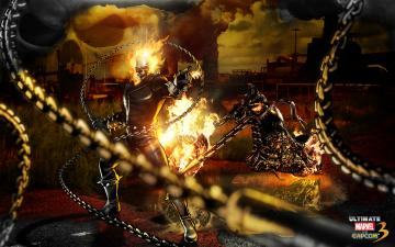Ghost Rider Marvel Vs Capcom Wallpapers HD Wallpapers