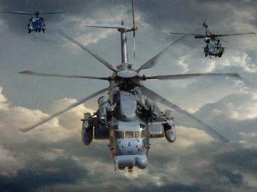wallpapers mh 53 Pave Low Helicopter Wallpapers