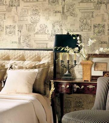 wallpaper decorating ideas 2015   Grasscloth Wallpaper