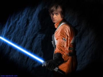 Luke Skywalker alias Mark Hamill ale jako fiktivn postava to