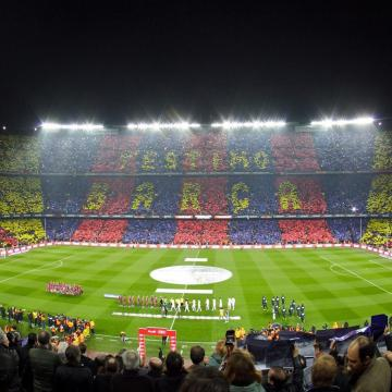 Barcelona Football Stadium 2 Ipad Wallpapers