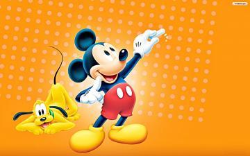 Walt Disney Wallpapers   Pluto Mickey Mouse   Walt Disney Characters