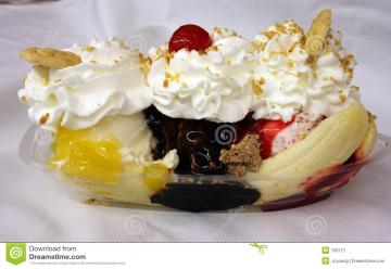 Pin Banana Split Food Wallpapers And Backgrounds