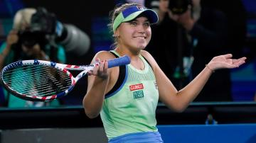 Kenin of US tops Muguruza at Australian Open for 1st major Yourbasin