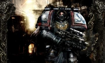 Warhammer 40k Wallpaper 1280x768 Space Marine Picture