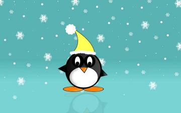 Cute Christmas Penguin HD Wallpapers from 2014 15