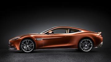 Aston martin vanquish side view   High Definition Wallpapers   HD