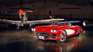 Corvette C1 1959   High Definition Wallpapers   HD wallpapers