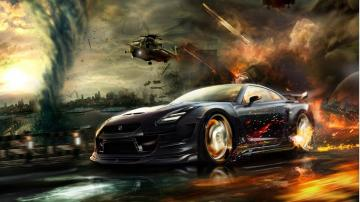 Cool Car Games Wallpaper